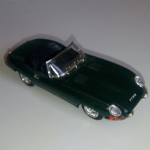 Model Box 1:43 1960's Jaguar E type Green TIPO 8461 road car loose Italy
